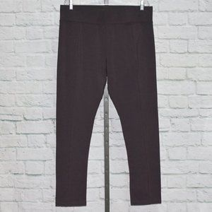 Pull-On Knit Pants with Pintuck Detail